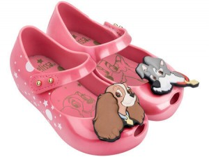 MINI MELISSA ULTRAGIRL  + Lady And The Tramp SS18 Pink SSK KIDS