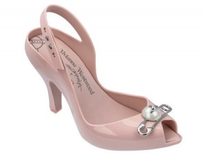 MELISSA - VIVIENNE WESTWOOD ANGLOMANIA  LADY DRAGON  XV  SS18 LIGHT PINK BFF