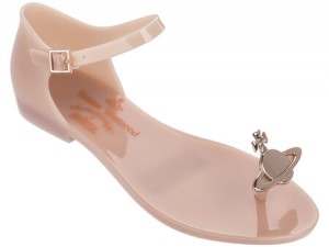 VIVIENNE WESTWOOD ANGLOMANIA + MELISSA HONEY SS18 Soft Pink