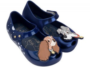 MINI MELISSA ULTRAGIRL  + Lady And The Tramp SS18 Blue