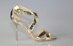 JIMMY CHOO LOTTIE GOLD