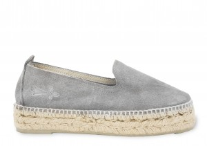 Manebi espadrilles hamptons grey