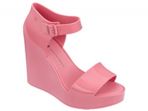 Melissa Mar Wedge SS18 Pink