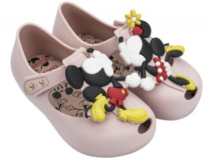 MINI MELISSA Ultragirl & Disney Twins III Light Pink AW18