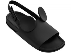 Melissa Beach Slide DISNEY SS18 Black