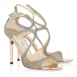 JIMMY CHOO LANG FABRIC GLITTER