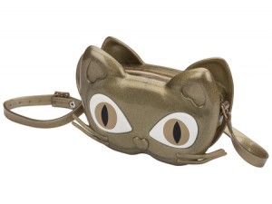 MELISSA CAT BAG Gold AW18