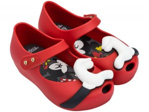 MINI MELISSA Ultragirl & Disney Twins III Red AW18