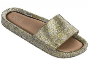 Mel Beach Slide Melissa Junior SS18 Kids Gold