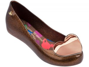 VIVIENNE WESTWOOD ANGLOMANIA + MELISSA ULTRAGIRL XIX SS18 Brown
