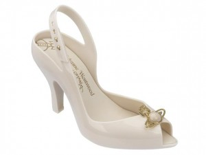 MELISSA - VIVIENNE WESTWOOD ANGLOMANIA  LADY DRAGON  XIV  FW17 BEIGE SSN  .