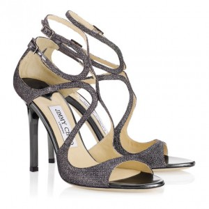 JIMMY CHOO LANCE FABRIC Anthracite