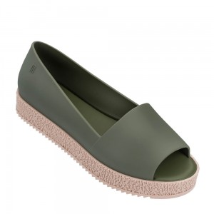 Melissa Puzzle Green SS19 SE19