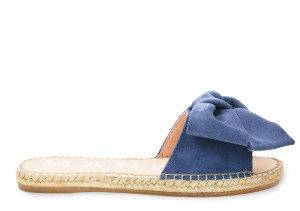 Manebi espadrilles flat sandals with bow  jeans