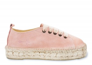 Manebi sneakers  hamptons  pastel rose