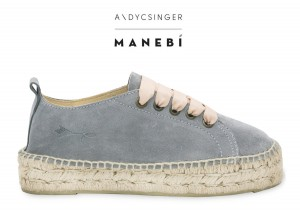 Manebi sneakers  hamptons  grey