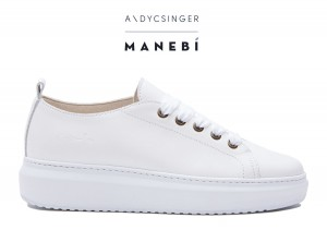 Manebi sneakers hamptons  white bold