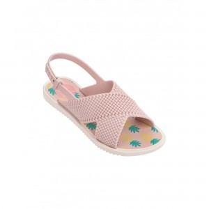 SANDAŁY ZAXY JUNIOR FASHION KIDS  light Pink