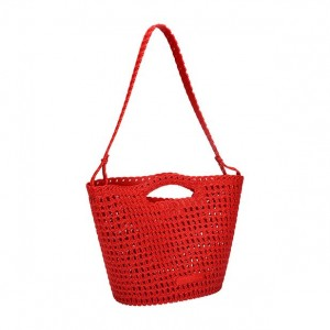 Melissa Campana Crochet Bag Red SS19