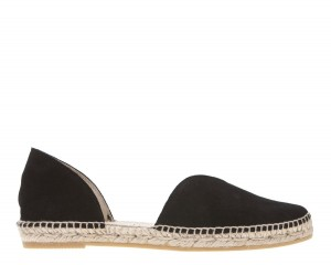 Manebi espadrilles Open-side Flats  Black