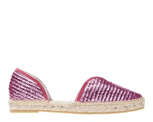 Manebi espadrilles Open-side Flats  Los  Angeles Fucsia