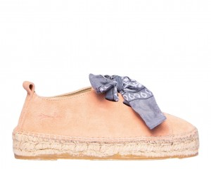 Manebi sneakers  hamptons  Pastel Rose with Bandana