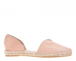 Manebi espadrilles Open-side Flats  Pastel Rose