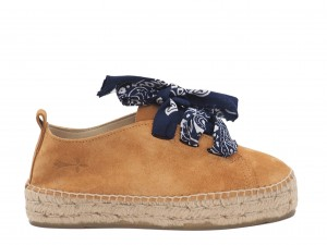 Manebi sneakers  hamptons  Cuero with Bandana