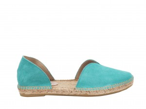 Manebi espadrilles Open-side Flats  Aquamarine