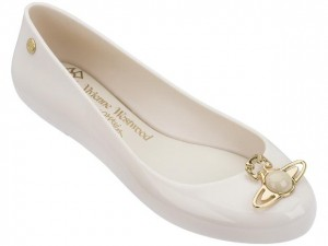 Melissa Vivienne Westwood Anglomania Space Love SL19  BEIGE SSN  .