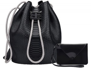 MELISSA BAG + BAJA EAST Black AW18 SE19