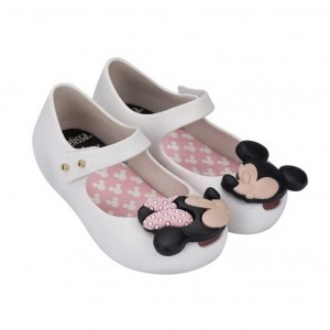 MINI MELISSA ULTRA + DISNEY White  KIDS SE19