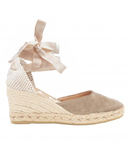 6650ccf63fc Manebi wedge sandal hamptons vintage taupe. Dispatched within  24 godziny