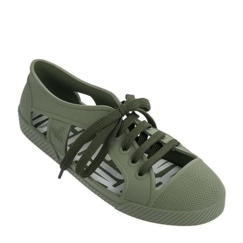 Melissa Vivienne Westwood Brighton Sneaker Green Trainers Shu Luv Melissa More