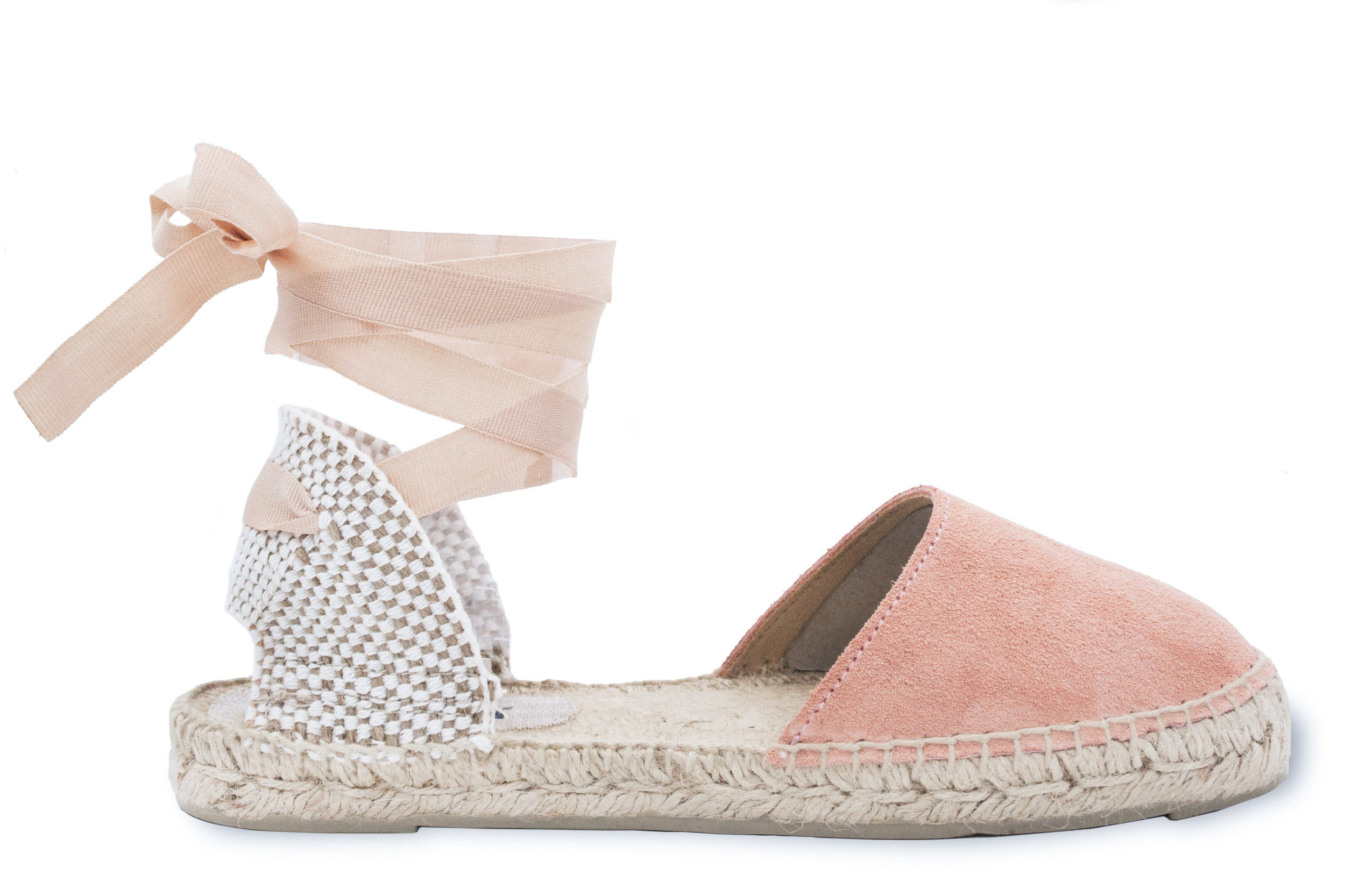 7ced169a449 Manebi espadrilles sandals hamptons pastel rose. new product tag
